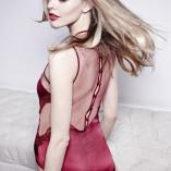 Scarlet Silk Body BACK Fleur of England