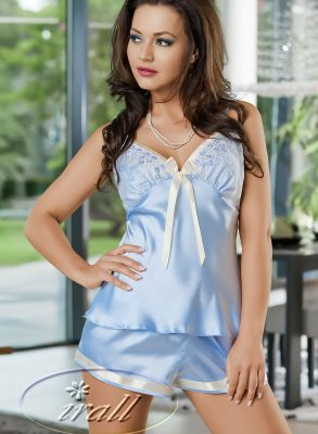 This luxurious satin Abigail camisole set is immensely sexy and extremely comfortable