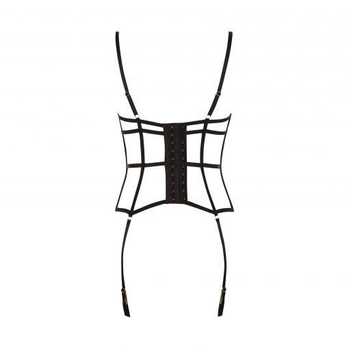 ปลุกความเย้ายวนในห้องนอนด้วยชุดชั้นในยาวที่มีเสน่ห์นี้ ตกแต่งด้วยริมลูกไม้ดูหรูหราและแผ่นซับผ้าตาข่ายสุดเซ็กซี่
